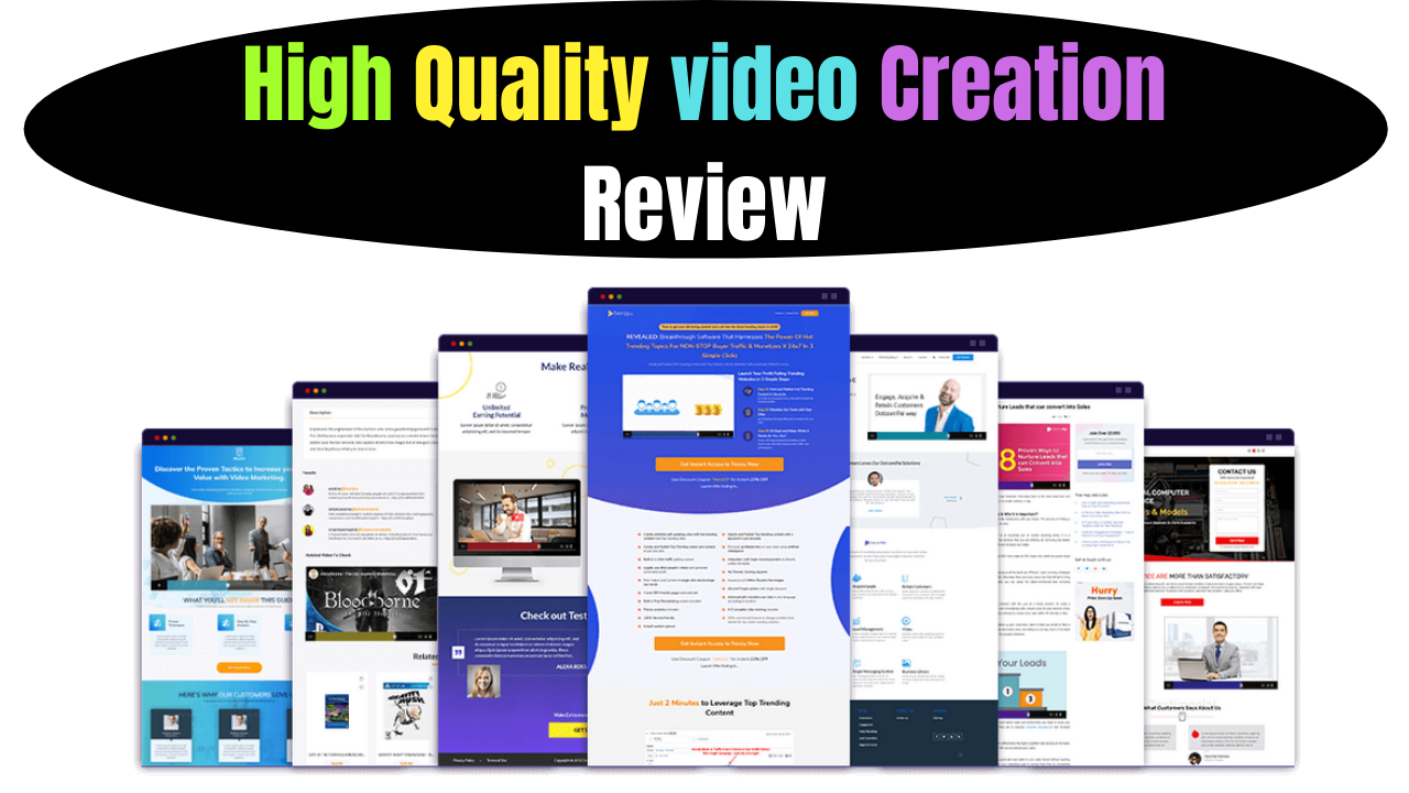 High Quality Video Creation Review
